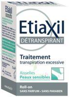 Etiaxil Aisselles Détranspirant Peau Sensibles Roll-on/15ml à BOUILLARGUES