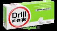 Drill 10 Mg Comprimés à Sucer Allergie Cétirizine Plq/7 à BOUILLARGUES