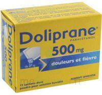 Doliprane 500 Mg Poudre Pour Solution Buvable En Sachet-dose B/12 à BOUILLARGUES