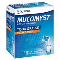 Mucomyst 200 Mg Poudre Pour Solution Buvable En Sachet B/18 à BOUILLARGUES