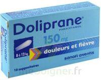 Doliprane 150 Mg Suppositoires 2plq/5 (10) à BOUILLARGUES