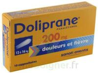Doliprane 200 Mg Suppositoires 2plq/5 (10) à BOUILLARGUES
