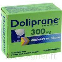 Doliprane 300 Mg Poudre Pour Solution Buvable En Sachet-dose B/12 à BOUILLARGUES