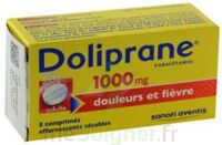 Doliprane 1000 Mg Comprimés Effervescents Sécables T/8 à BOUILLARGUES