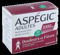 Aspegic Adultes 1000 Mg, Poudre Pour Solution Buvable En Sachet-dose 30 à BOUILLARGUES