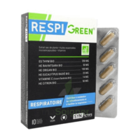 Synactifs Respigreen Bio Gélules B/10 à BOUILLARGUES