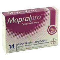 Mopralpro 20 Mg Cpr Gastro-rés Film/14 à BOUILLARGUES