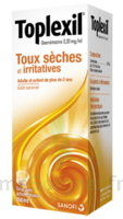 Toplexil 0,33 Mg/ml, Sirop 150ml à BOUILLARGUES