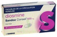 Diosmine Sandoz Conseil 600 Mg, Comprimé Pelliculé à BOUILLARGUES