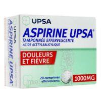 Aspirine Upsa Tamponnee Effervescente 1000 Mg, Comprimé Effervescent à BOUILLARGUES