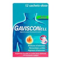 Gavisconell Suspension Buvable Sachet-dose Menthe Sans Sucre 12sach/10ml à BOUILLARGUES