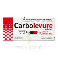 Carbolevure Gélules Adulte Plq/30 à BOUILLARGUES