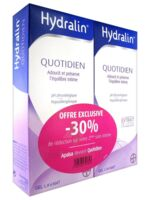 Hydralin Quotidien Gel Lavant Usage Intime 2*400ml à BOUILLARGUES