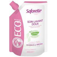 Saforelle Solution Soin Lavant Doux Eco-recharge/400ml à BOUILLARGUES