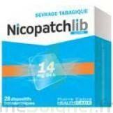 Nicopatchlib 14 Mg/24 H Dispositifs Transdermiques B/7 à BOUILLARGUES