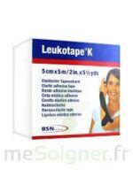 Leukotape K Sparadrap Noir 5cmx5m à BOUILLARGUES