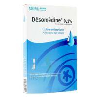 Desomedine 0,1 % Collyre Sol 10fl/0,6ml à BOUILLARGUES