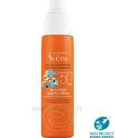 Avène Eau Thermale Solaire Spray Enfant 50+ 200ml à BOUILLARGUES