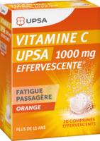 Vitamine C Upsa Effervescente 1000 Mg, Comprimé Effervescent à BOUILLARGUES