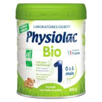 Physiolac Bio 1 Lait En Poudre B/800g à BOUILLARGUES